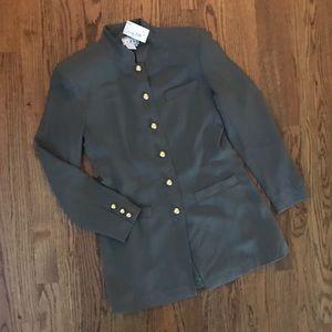Vtg 1980s 1990s Military Tunic Jacket 4 New NWT